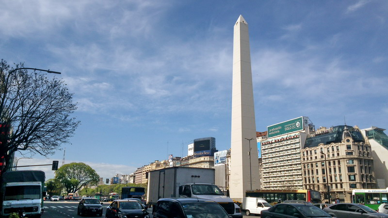 Private tour Buenos Aires famous obelisk