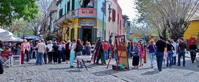 Private city tour Buenos Aires Boca Caminito
