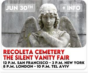 Virtual tour Recoleta Cemetery Buenos Aires
