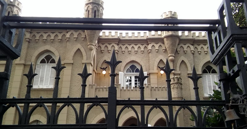 Private out of the beaten path walking tour Buenos Aires hidden gothic castle