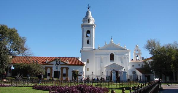 Recoleta private tours Buenos Aires Iglesia del Pilar