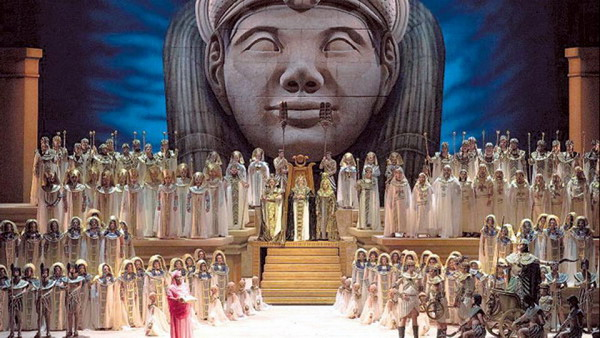 Private tour guide in Buenos Aires Teatro Colon Opera House Aida's play