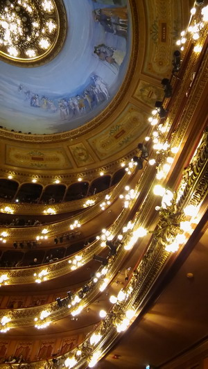 Private tour guide in Buenos Aires Teatro Colon Opera House balconies